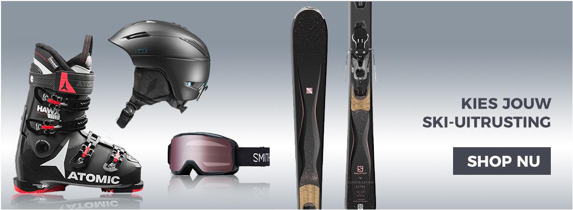 Ski materiaal, uitrusting