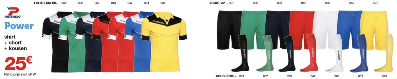 Sportline Patrick ploegsport teamwear power