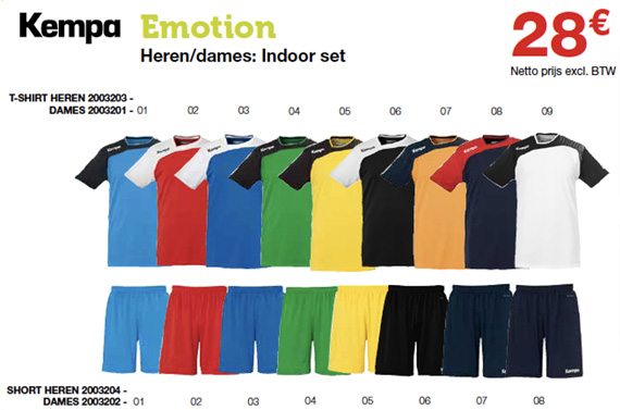 Kempa Emotion handbalsets