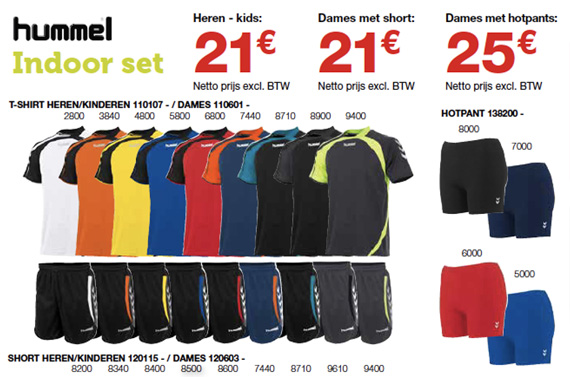 Hummel indoor sportclub set