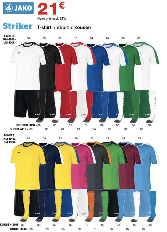 Jako striker teamwear Sportline