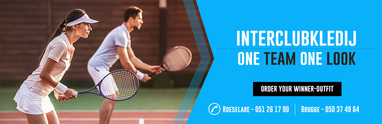Tennis - interclub kledij