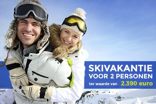 Win skivakantie voor 2 personen
