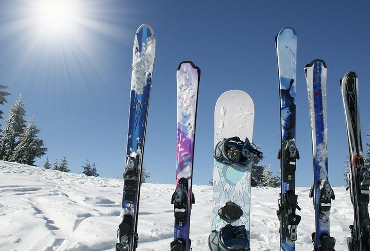 Ski en snowboard verhuur - Sportline