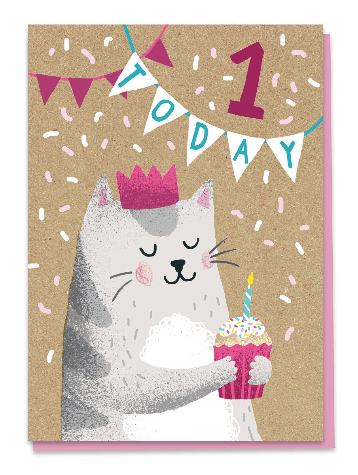 First birthday - cat