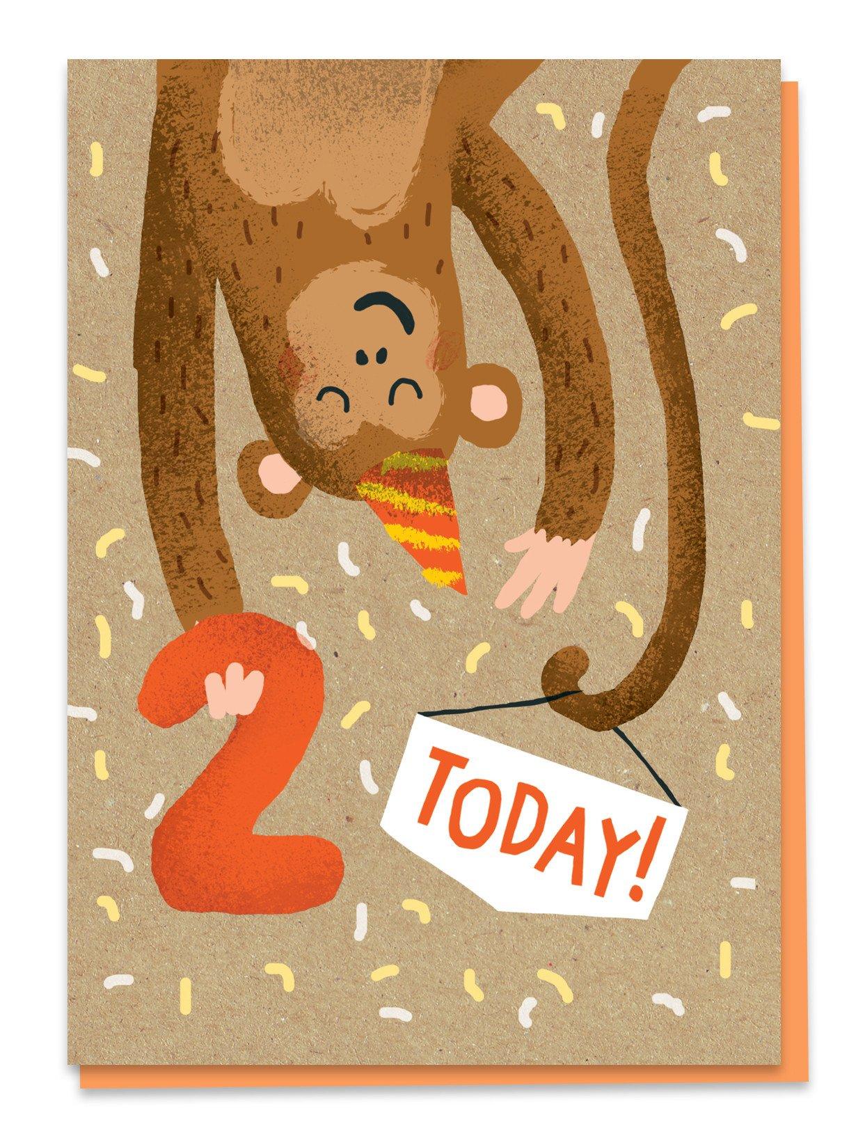 Second birthday - monkey