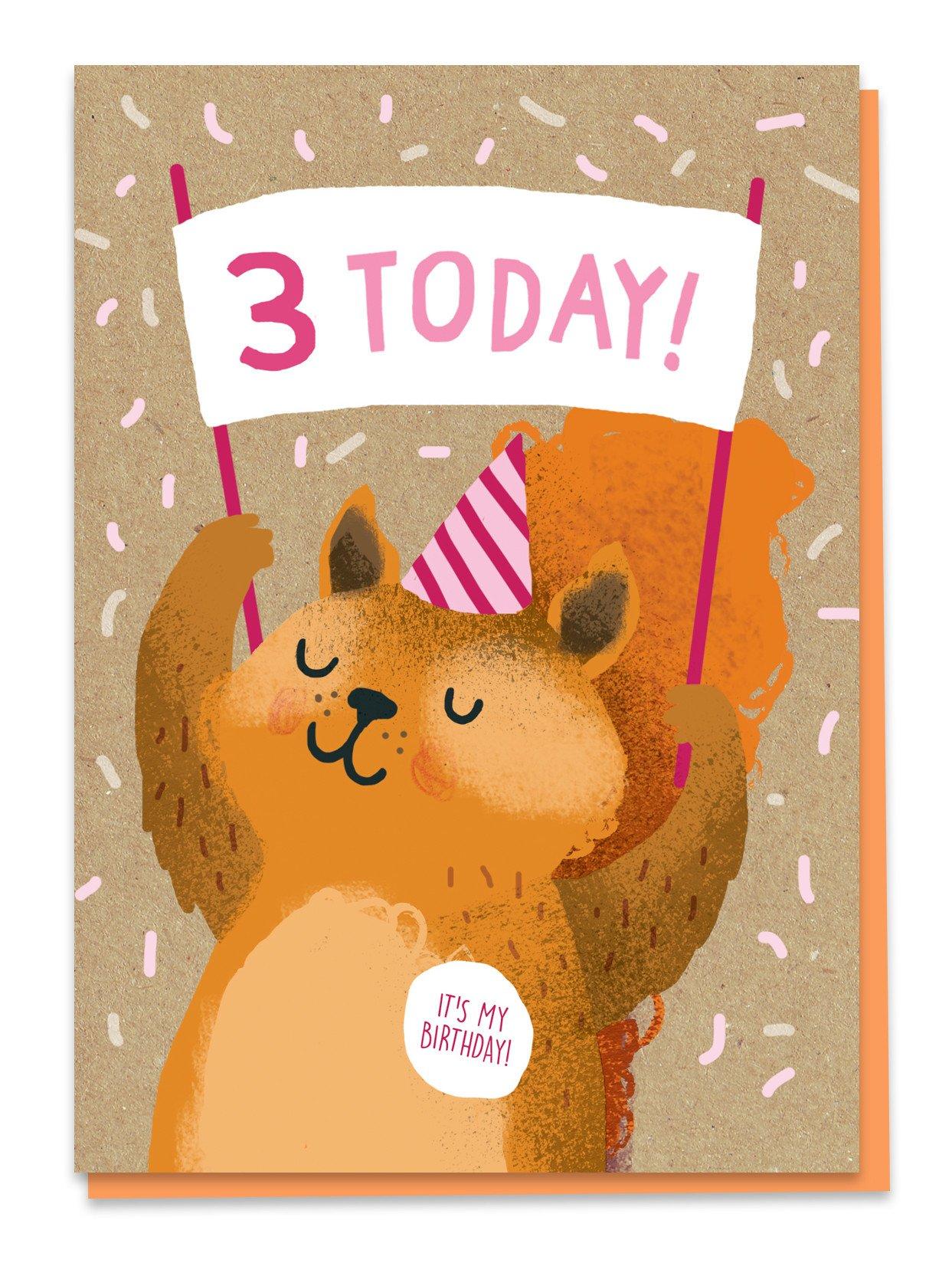 Third birthday - eekhoorn