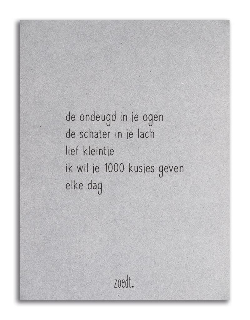 Postkaart Zoedt
