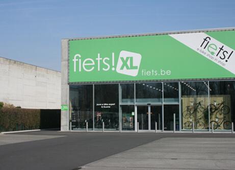 Knop winkels Fiets!