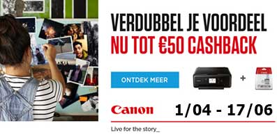 Canon printer cashback