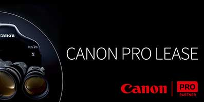 Canon pro lease
