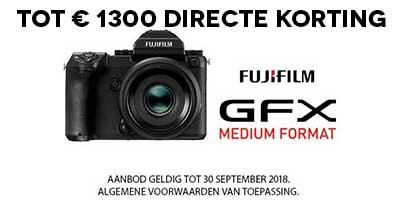 Fujifilm GFX directe korting
