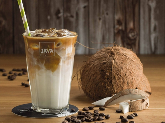 Iced coco latte