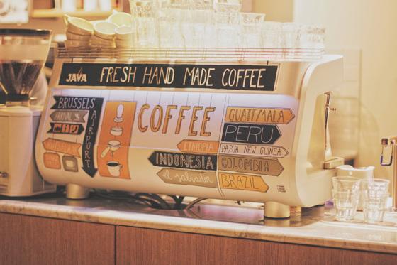 JAVA Koffie - Brussels Airport