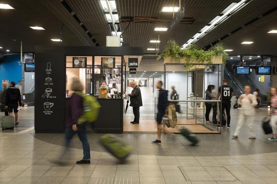 JAVA Koffie - Station Brussel-Zuid