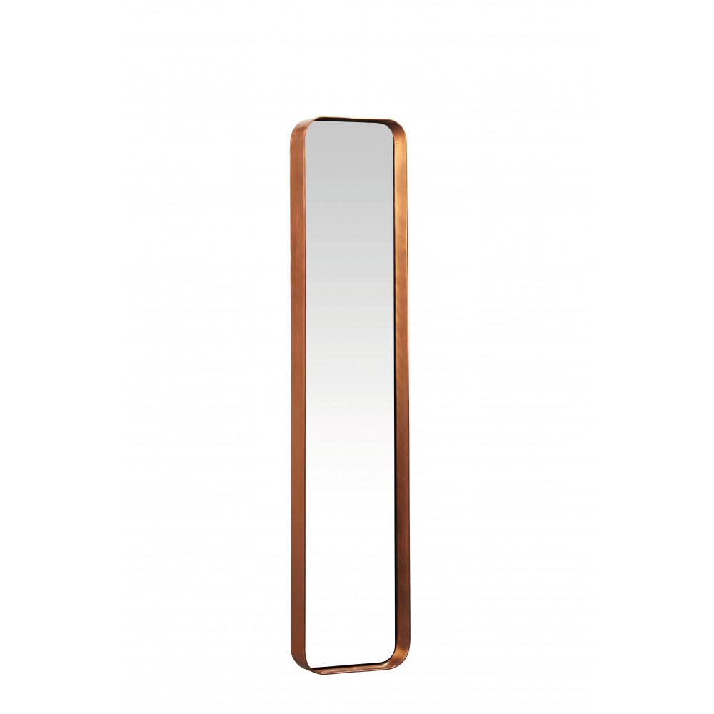 Kelly rechthoekige spiegel metaal spiegel koper m 76x16x5 cm product detail kelly - Spiegel orangerie ...