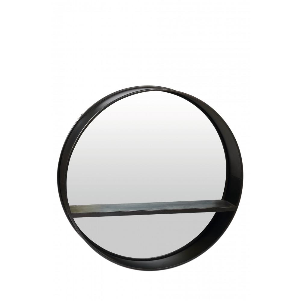 Loft spiegel rond mdf dia 80 x h 18 cm product detail loft spiegel rond mdf dia 80 x h - Spiegel orangerie ...