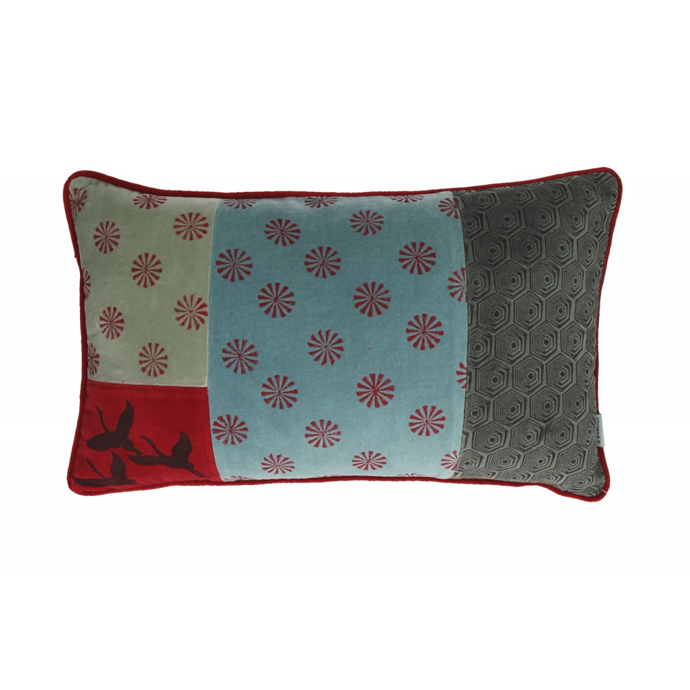 Kimono coussin velours chambray petits moulins - Coussin flamant rose ...