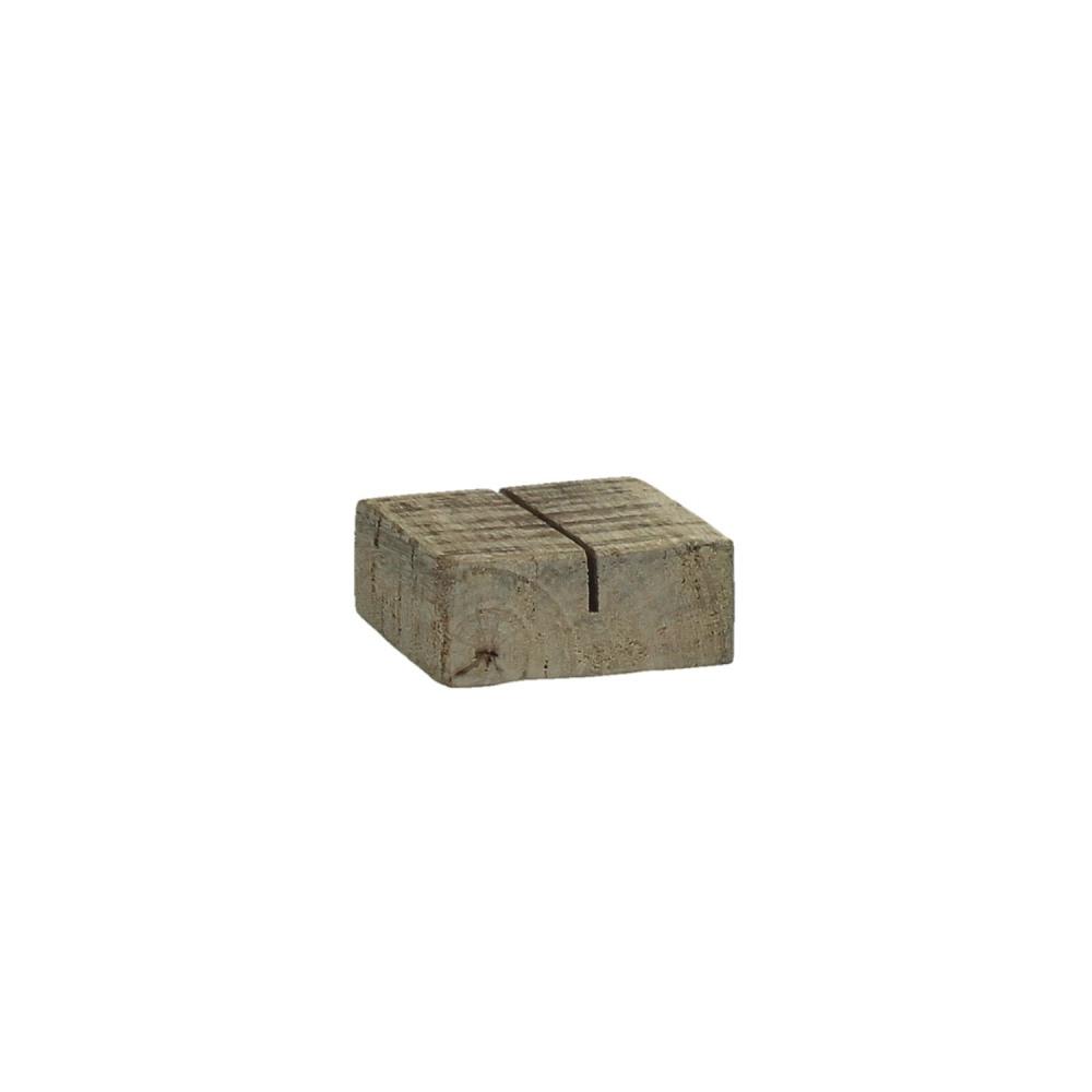Bloxx porte carte bois de mangue naturel s for Porte bois 60 cm