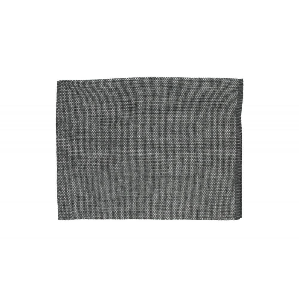 Lux chemin de table coton et lurex gris et argent for Miroir 40x150