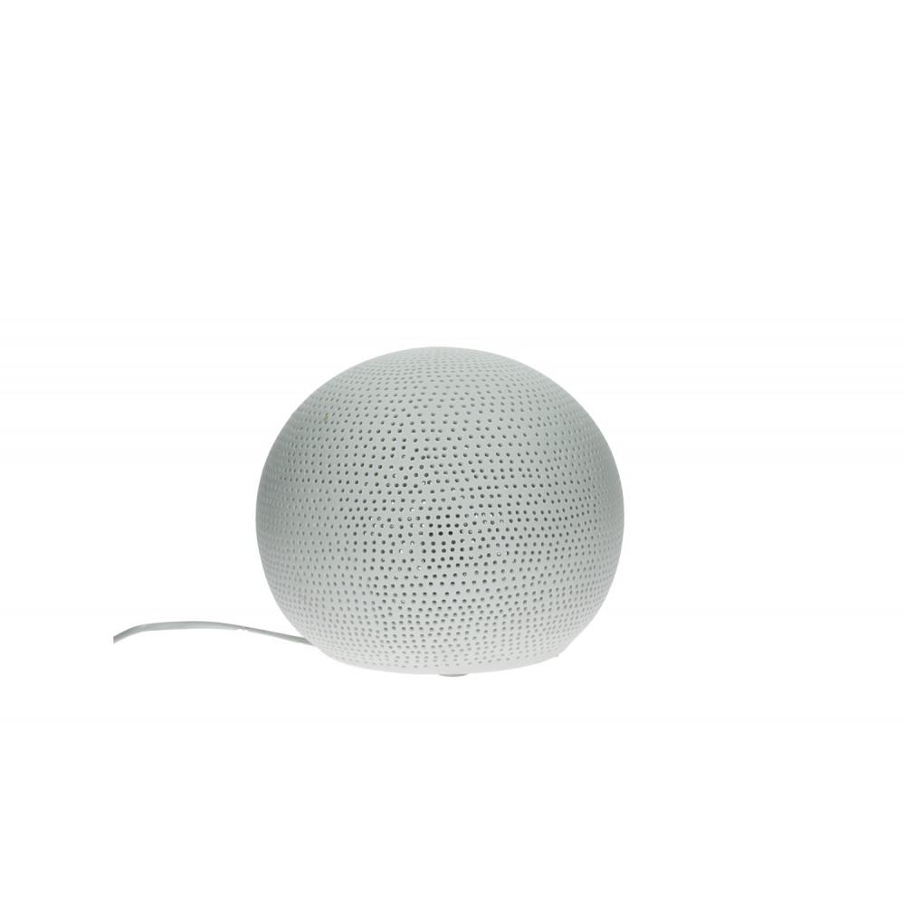 sphere boule lumineuse e14 porcelaine m dia 25 cm. Black Bedroom Furniture Sets. Home Design Ideas