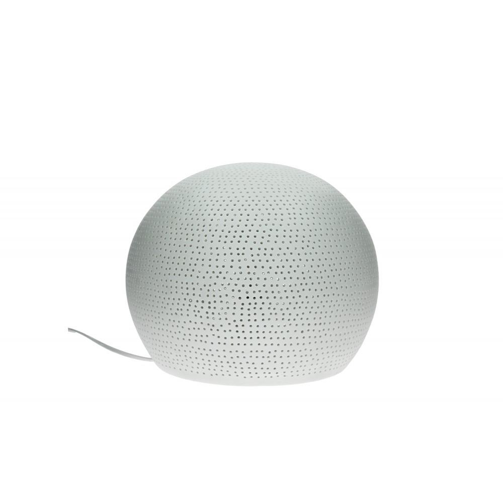 sphere boule lumineuse e14 porcelaine l dia 30 cm. Black Bedroom Furniture Sets. Home Design Ideas