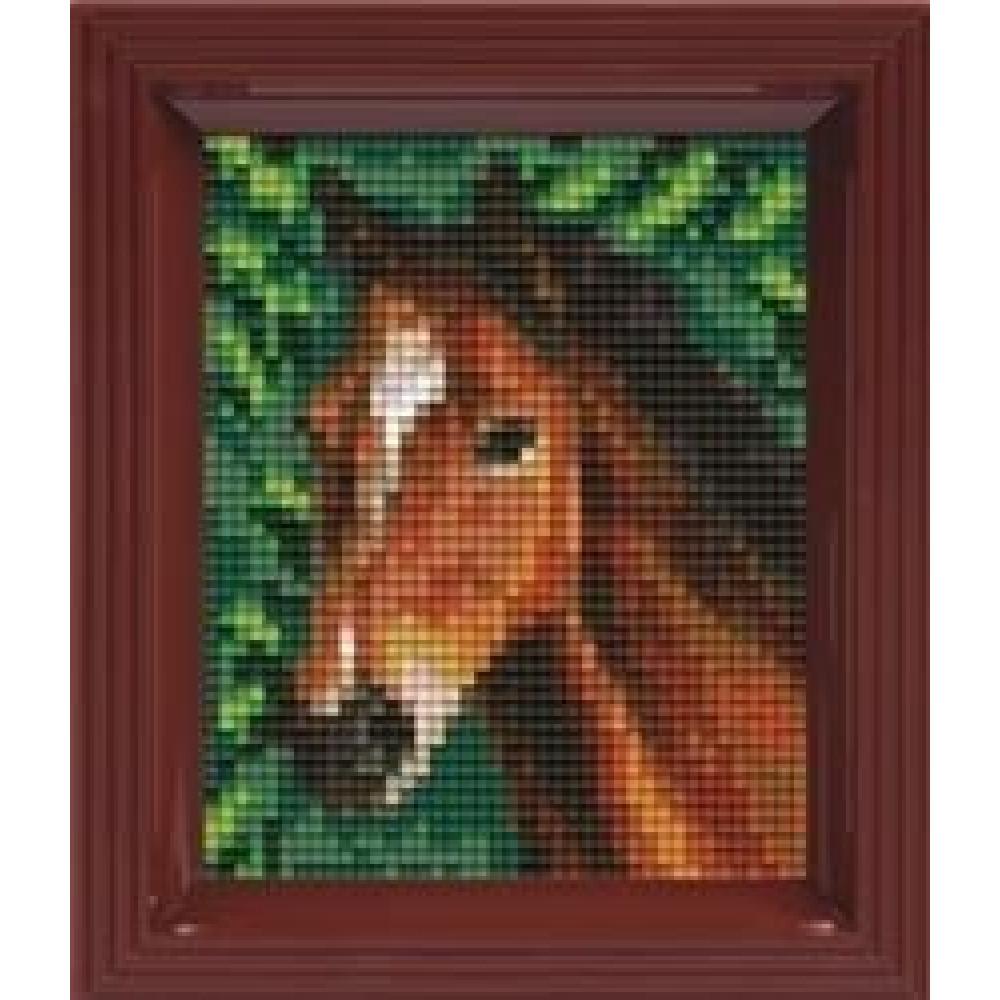 Pixelhobby Set Cadeau Pixel Cheval Bricolage Avabe