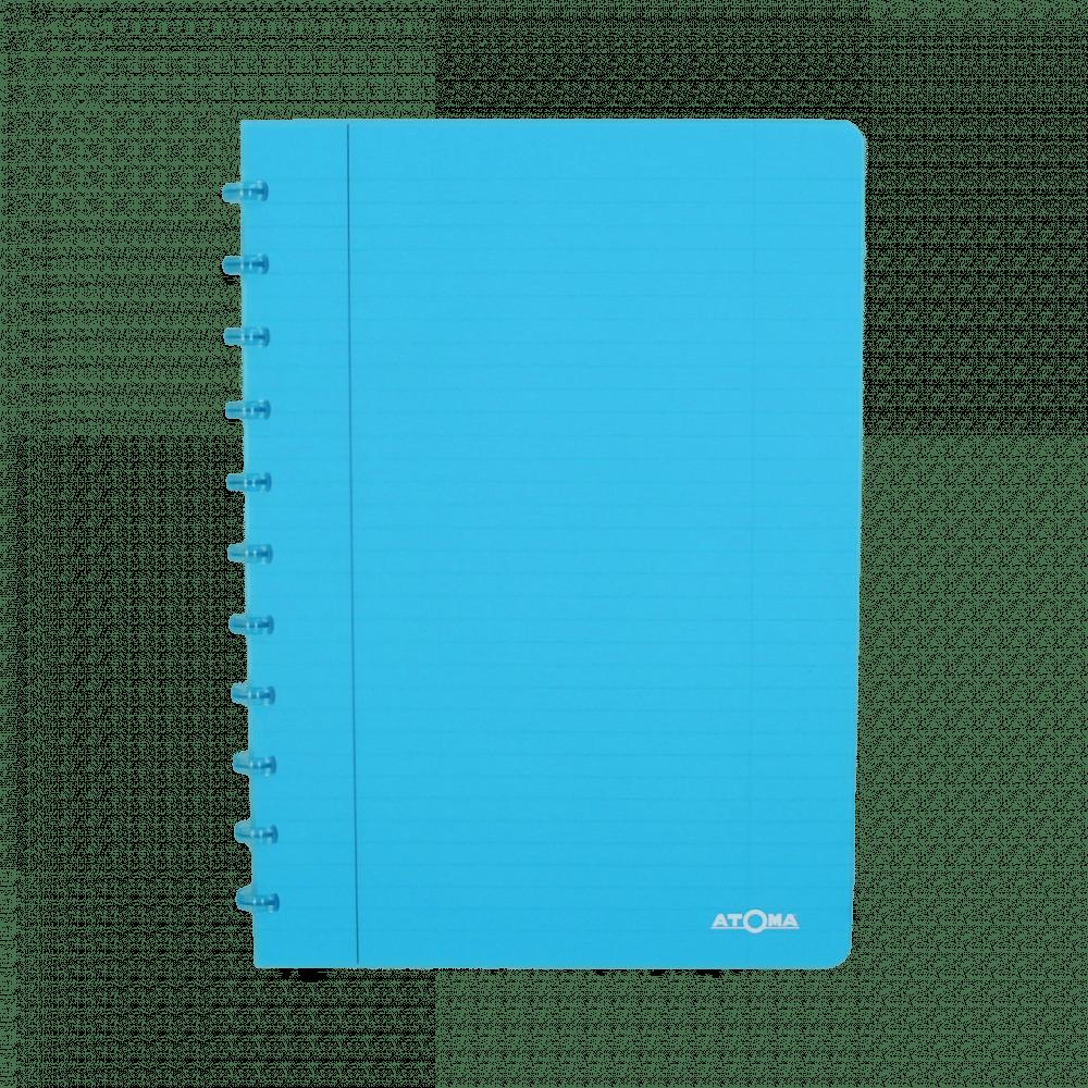 Atoma Cahier A4 Ligné 72 Feuilles Transparant Papier Avabe