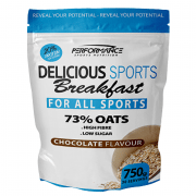 Performance Delicious Sports Breakfast Chocolade