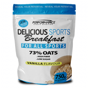 Performance Delicious Sports Breakfast Vanille