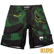 Venum Green Viper Fightshorts Kinderen