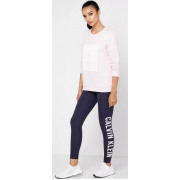 Calvin Klein - Legging Logo Print 7/8 Tight Dames