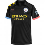 Puma - MCFC Away Shirt Replica SS Jr Netto