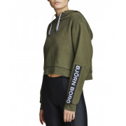 Bjorn Borg - Sweater Cropped Hood Dames