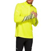 Asics - fluo Sport Shirt Lite-Show 2 LS 1/2 Zip Top Heren