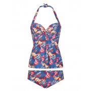 Lingadore - Denim Tankini met Short