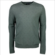 Lerros - Pullover Printed O-neck Heren