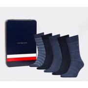 Tommy Hilfiger - Box van 5 paar kousen Sharp Stripes Gift heren
