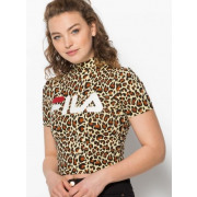 Fila - T-shirt Every leopard Turtle dames