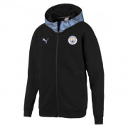 Puma - MCFC Casuals Zip-thru Hoody Netto