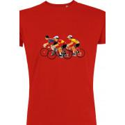 DLP - Retro Koers T-shirt Heren
