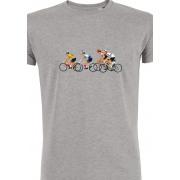 DLP -Retro Koers T-shirt Heren