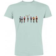 DLP - Retro Koers T-shirt Aankomst Bianchi heren