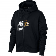 Nike - NSW RALLY HOODIE FZ METALLIC
