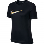 Nike - NK MILER TOP SS METALLIC