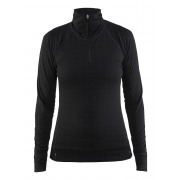 Craft - Nordic Wool Zip Neck W