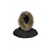 Goldbergh- Muts- Kap Naomi Hood/Col real raccoon fur dames