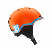 Salomon - Grom Jr Fluo Orange/Blue Snow Helmet