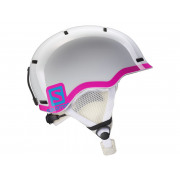 Salomon - Grom Jr White Glossy/Pink Snow Helmet
