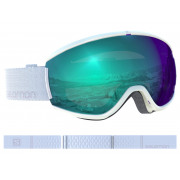 Salomon - Ivy Photo WH/ALL Weather Blue Snow Goggle